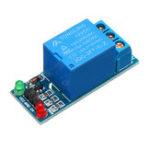 Оригинал 5 шт. 1 канал 12 В релейный модуль с оптрон реле изоляции высокого уровня триггер для Arduino