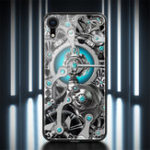 Оригинал NILLKINЗакаленноестеклоЗеркальнаяповерхностьПротивоударная задняя крышка Защитная Чехол для iPhone XR