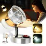 Оригинал 12V 3W Матовое стекло LED Точечный светильник для чтения RV Лодка Настенный прикроватный крепеж Лампа