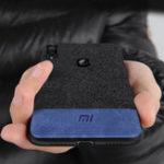 Оригинал BakeeyLuxuryFabricSpliceSoftСиликоновый Край Противоударный Защитный Чехол Для Xiaomi Redmi Примечание 7