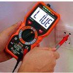 Оригинал PM18C True RMS Digital Мультиметр AC / DC LCD Дисплей Мультиметр