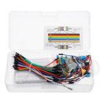 Оригинал Стартер Набор Резистор LED Конденсатор Jumper Провода Макетная Резистор Набор С Розничной Коробка Для Arduino DIY Набор