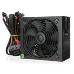 Оригинал 1500W блок питания Active PFC компьютерный блок питания 24Pin SATA LED охлаждающий вентилятор 80 Plus