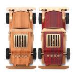 Оригинал 5 Вт Портативный Беспроводной USB Bluetooth Динамик Ретро Авто Setero Wood Super Bass FM MP3