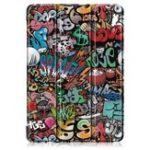 Оригинал Tri-Fold Печатный планшет Чехол Чехол для планшета Lenovo Tab E10 – Doodle