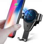 Оригинал Bakeey 5 Вт 10 Вт Qi Автоматическая быстрая зарядка Беспроводное зарядное устройство Авто Держатель для iPhone X XR XS Макс Xiaomi Mi8 Mi9 HUAWEI P20