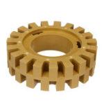 Оригинал 4 дюймов Колесо резинового ластика на 30 мм выдерживает до 3500 об / мин