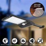 Оригинал 3шт Солнечная Powered 36 LED PIR Motion Датчик Водонепроницаемы Уличный светильник Стена Лампа для На открытом воздухе Сад