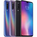 Оригинал XiaomiMi9Mi9GlobalVersion 6,39 дюйма 48-мегапиксельная трехместная задняя камера NFC 6 ГБ 64GB Snapdragon 855 Octa core 4G Смартфон