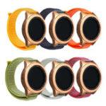 Оригинал 20мм Nylon Ремешок для часов Стандарты Замена для Samsung Galaxy Watch Active 2019