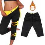Оригинал ЖенщиныСаунаНеопренФитнесСпортзалYoga Брюки Body Shaper Hot Sweat Похудение Термо