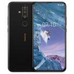 Оригинал NokiaX716,39-дюймовый48-мегапиксельнаятройнаязадняя камера 6 ГБ RAM 128 ГБ ПЗУ Snapdragon 660 Octa core 4G Смартфон