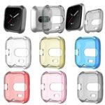 Оригинал KALOADТПУЗащитнаякрышкадлякорпуса Shell Чехол Cover for Fitbit Versa Lite