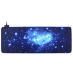 Оригинал 800 * 400 * 3 мм USB Проводной LED Bakclit Starry Sky Большой Мышь Pad Коврик для рабочего стола Pad