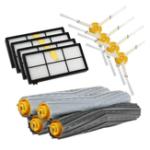 Оригинал Комплекты боковых щеток фильтра-экстрактора для пылесоса iRobot Roomba 800 Series