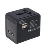 Оригинал YICHEN TR-148 Универсальный международный штекер USB 2.1A Адаптер переменного тока Настенный адаптер питания для путешествий по всему миру Преобра