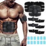 Оригинал 12PCS ABS Стимулятор Гель Замена колодок для мышечного тонера для брюшной тренировки Ремень Muscle Trainer Machine