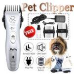 Оригинал 100-240V Светодиодный индикатор электрический Волосы Триммер Pet Clipper
