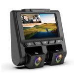 Оригинал A1 3 дюймов IPS 1080P 30 кадров в секунду Dual Объектив рекордер вождения Авто Видеорегистратор камера