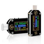 Оригинал RUIDENGTC66/TC66CType-CPD Trigger USB Напряжение Амперметр Емкость Измеритель мощности 2-стороннее зарядное устройство Батарея APP ПК USB-тестер