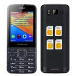 Оригинал MAFAMM112,8дюймовHDБольшой экран 1800 мАч 4 сим-карты 4 режима ожидания FM GPRS Мини-телефон