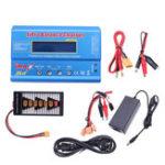 Оригинал IMax B6 50 Вт 5A Батарея Балансное зарядное устройство с 12 В 5A Блок питания XT60 Параллельная плата
