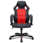 Оригинал Bettor BTD-0401 Регулируемый кожаный офисный стул Эргономичный игровой стул с высокой спинкой Поворотный наклонный исполнительный мягкий подно
