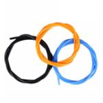 Оригинал 1,75 мм 1M PTFE Тефлоновая подача Трубка с черным / синим / оранжевым для сопла Экструдер 3D Притнер