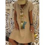 Оригинал Женская футболка с коротким рукавом с коротким рукавом с принтом Платье