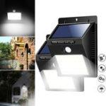 Оригинал 40 LED Солнечная Power Light PIR Motion Датчик Безопасность На открытом воздухе Сад Водонепроницаемы Стена Лампа