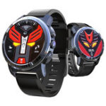 Оригинал Kospet Optimus MTK6739 + NRF52840 4G AMOLED Керамический Рамка Google Play GPS / ГЛОНАСС 2G + 16G Смарт-телефон для часов