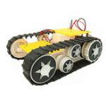 Оригинал Малый Hammer трансформируемый RC робот танк Авто шасси базы