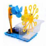 Оригинал Маленький Hammer STEAM DIY Bubble Blister Robot Machine Обучающие Набор