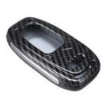 Оригинал ABS Авто Ключ Чехол Крышка Сумка Автоbon Fiber Black для Audi A4L A5 A6L Q5 Q7 S6 A7 A8L