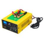 Оригинал 12 В / 24 В 15A Авто Свинцово-Кислотный Батарея Зарядное Устройство Интеллектуальный Импульс Ремонт LCD Для Авто мотоцикл