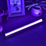 Оригинал 60 СМ IP45 54 LED UV Флуоресцентный Жесткий Свет Blacklight Лампа Для Партии Домашнего Внутреннего Декора AC100-240V