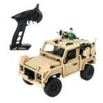 Оригинал МодельMNMN961/122.4G4WD Пропорциональный контроль Rc Авто с Светодиодный Восхождение на внедорожник RTR Toys