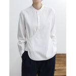 Оригинал Китайская блузка из твердого хлопка