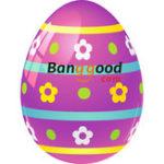 Оригинал Banggood Smart Watch Wristband Пасхальные счастливые яйца