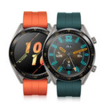 Оригинал HuaweiWatchGTсилаВерсияAMOLED GPS Сердце Трек Трекер Спортивный режим QuickFit Ремешок 15 дней Батарея Life Smart Watch