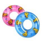 Оригинал 8см мини плавательный спасательный круг с плавающей надувные игрушки
