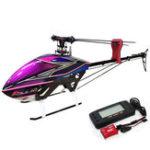 Оригинал KDS AGILE A7 6CH 3D Flybarless 700 класс RC Вертолет Набор с EBAR V2 гироскоп