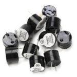 Оригинал 100 шт. 12 В Active Зуммер Электромагнитный SOT Пластик Герметичный Трубка Длинный Звук 12 мм х 9.5 мм