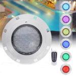 Оригинал 35W 360 LED RGB Подводное плавание Бассейн Свет Дистанционное Управление Водонепроницаемы