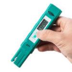 Оригинал Tvird Digital PH Meter 0,01 pH Тестер качества воды LED с подсветкой Дисплей для бытовой питьевой воды Бассейн Гидропоника