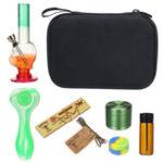 Оригинал 8 В 1 Многофункциональный Курение Коробка Набор Rolling Set Herb Grinder H ookah Трубка для Курильщика