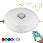 Оригинал YouOKLight 36 Вт RGB Dimmable Bluetooth Динамик Музыка LED Потолочный светильник APP управления Лампа AC220V