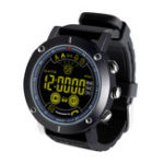 Оригинал BakeeyEX19Записьнавесьдень Металлический корпус с подсветкой 5ATM Сообщение 12 месяцев в режиме ожидания Smart Watch