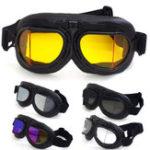 Оригинал Угловой Ретро Винтаж мотоцикл Очки защитные очки защитные для верховой езды Очки Для Harley Кафе Ветрозащитный Водонепроницаемы