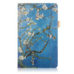 Оригинал Фолио Стенд для печати планшета Чехол Чехол для Samsung Galaxy Tab A 10,5 T590 T595 T597 Tablet – Абрикосовый цвет